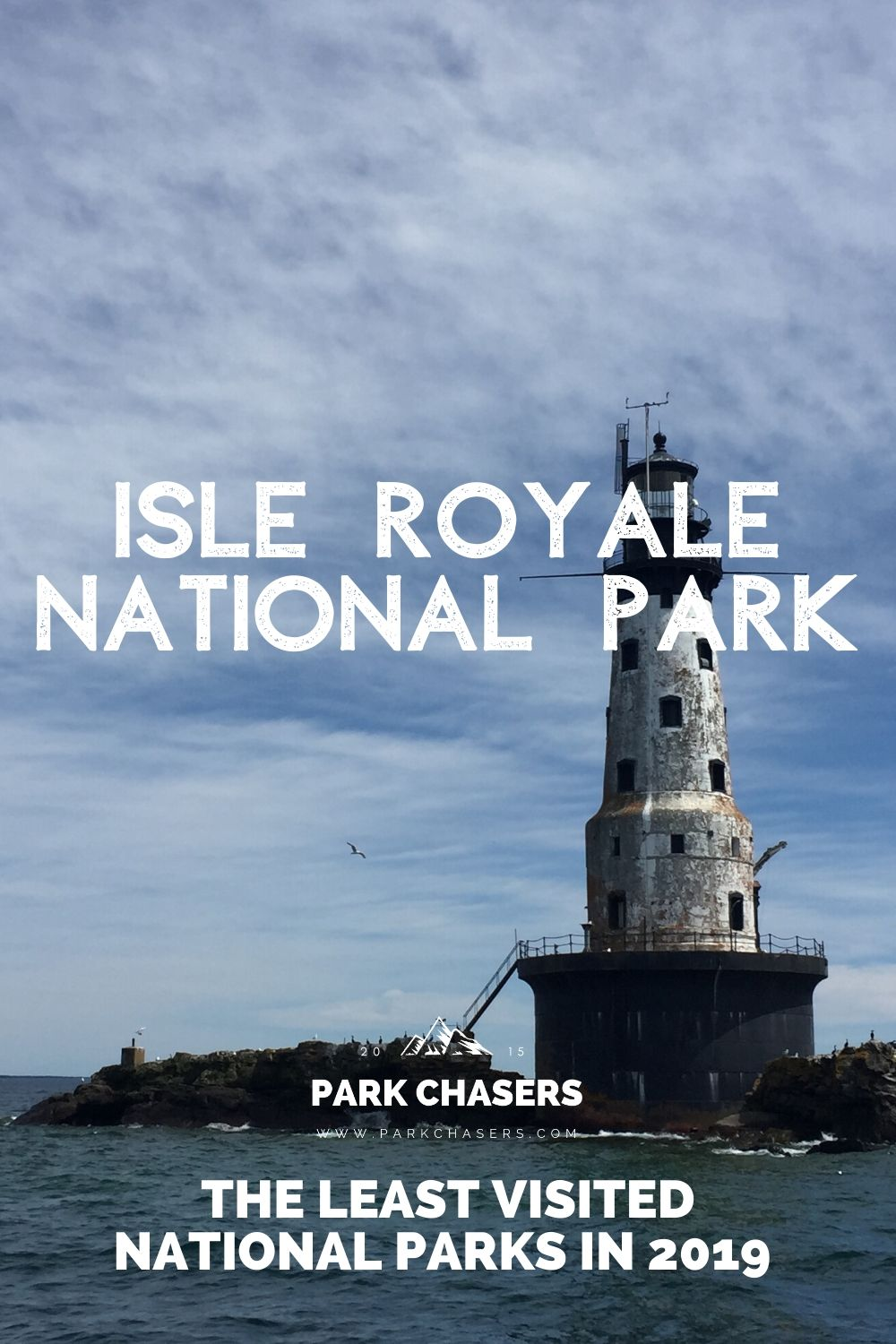 Isle Royale National Park - one of the least visited national parks in 2019