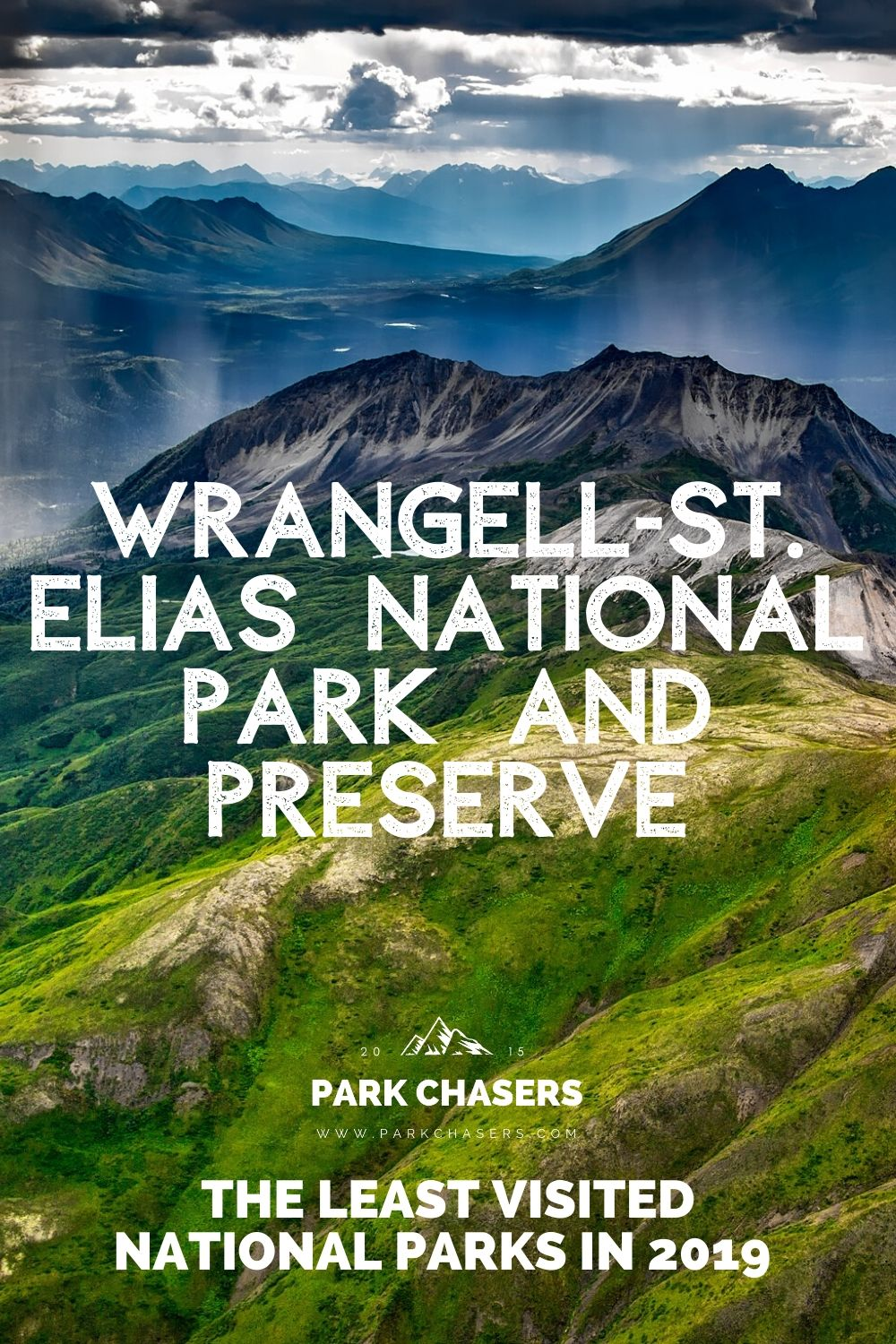 Wrangell-St. Elias National Park - one of the least visited national parks in 2019
