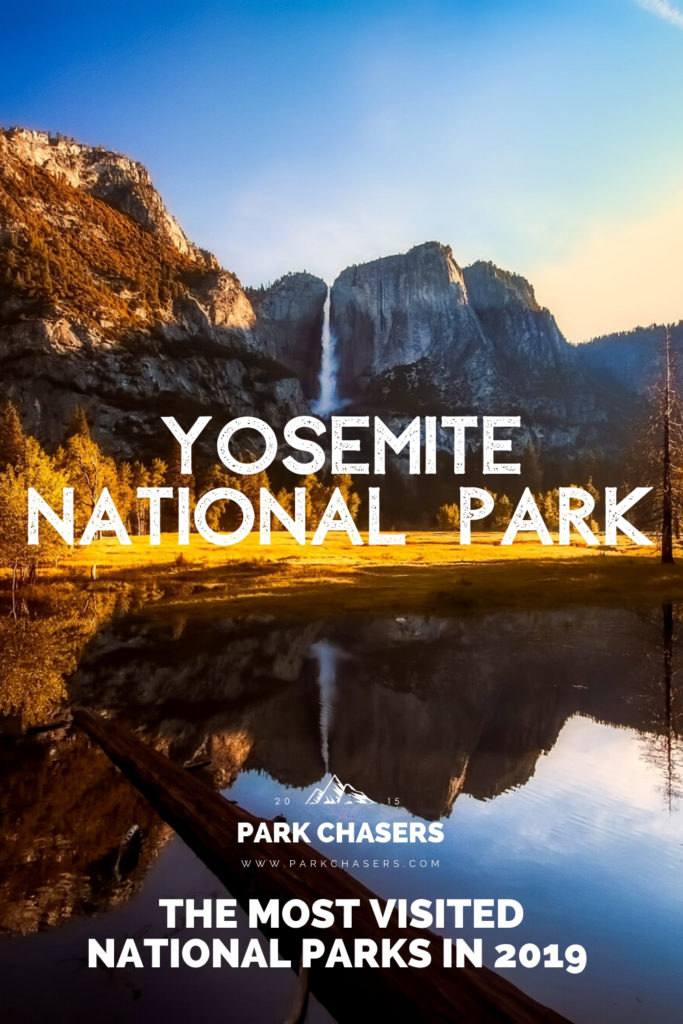 Yosemite National Park - #5 most visited national park in 2019