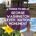 9 Things to See at George Washington Carver National Monument