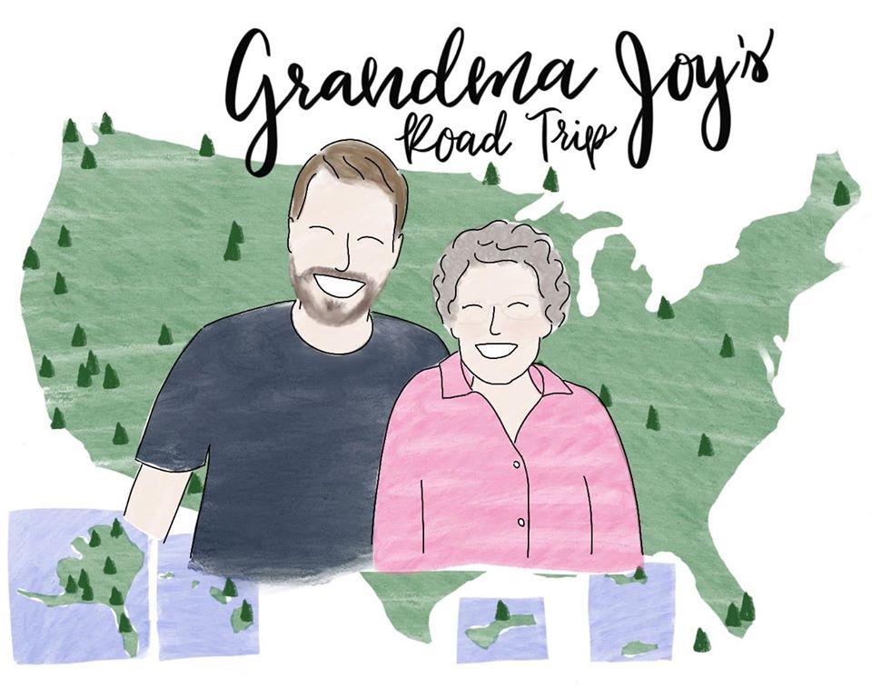 Grandma Joy's Road Trip Logo