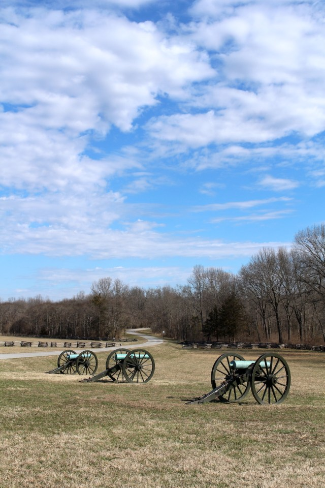 Hiking through Pea Ridge National Military Park