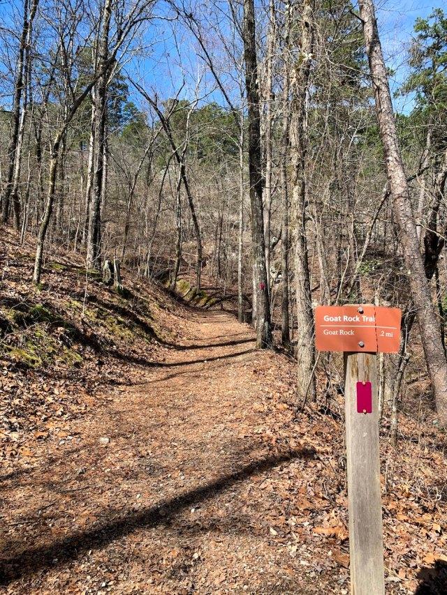 Goat Rock Trail Sign