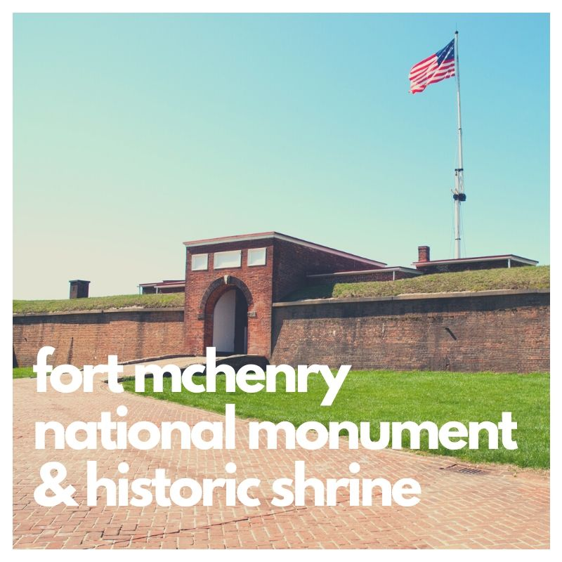 Fort McHenry National Monument, one of the many national park forts
