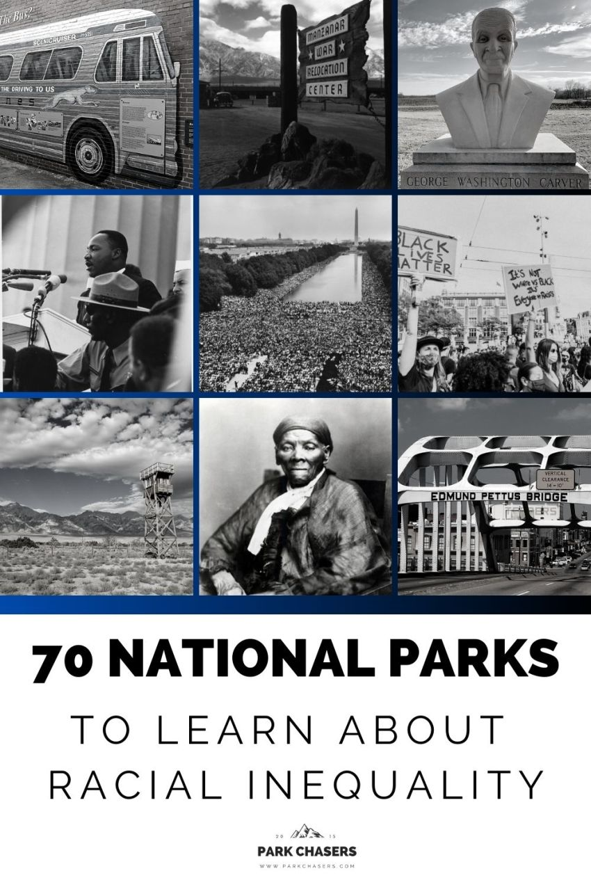 National Parks To learn About Racial Inequality