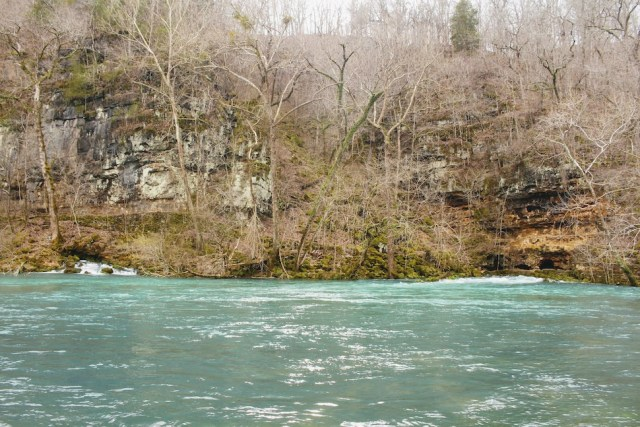 Water of Big Spring in Ozark National Scenic Riverways