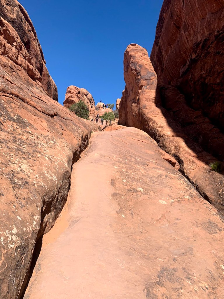 Hike to Double O Arch