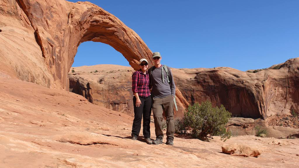 Park Chasers at Corona Arch