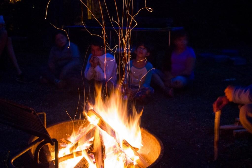 Wilderness Inquiry Campfire