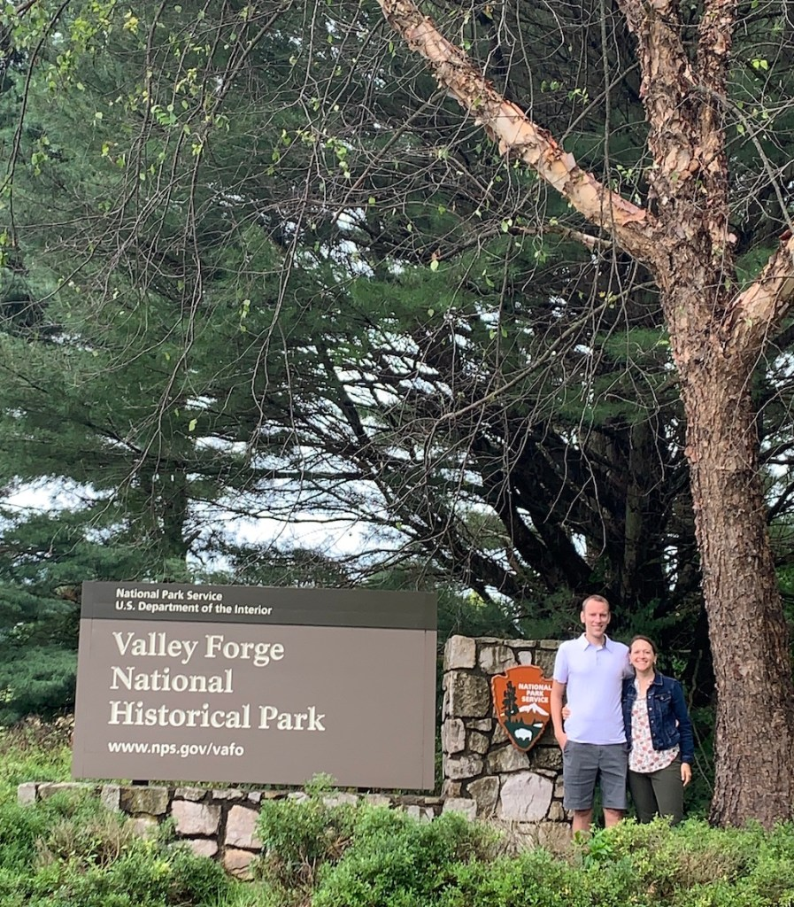 Park Chasers at Valley Forge