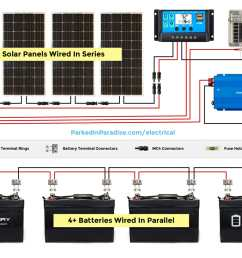 12 volt solar wiring diagram wiring diagram schematic solar panel calculator and diy wiring diagrams for [ 1200 x 858 Pixel ]