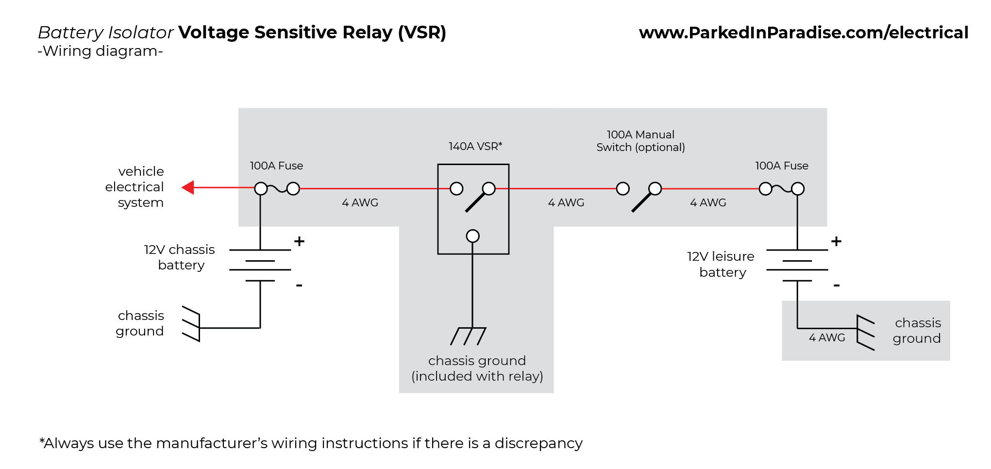 Voltage Relay Wiring Diagram