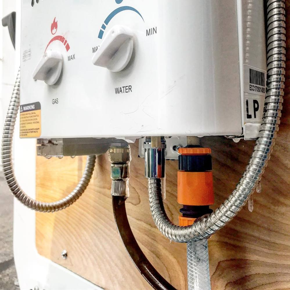 medium resolution of installing a 12v water heater in a campervan conversion