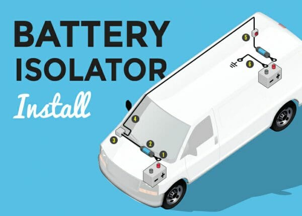 typical wiring diagram for a house 2016 toyota tundra solar panel calculator and diy diagrams rv campers how to install battery isolator in your conversion van