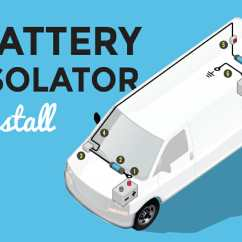 Rv Battery Isolator Wiring Diagram Nissan Navara D40 Towbar How To Install A In Your Conversion Van Parked Paradise