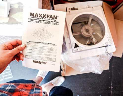 small resolution of how to install a maxxair fan