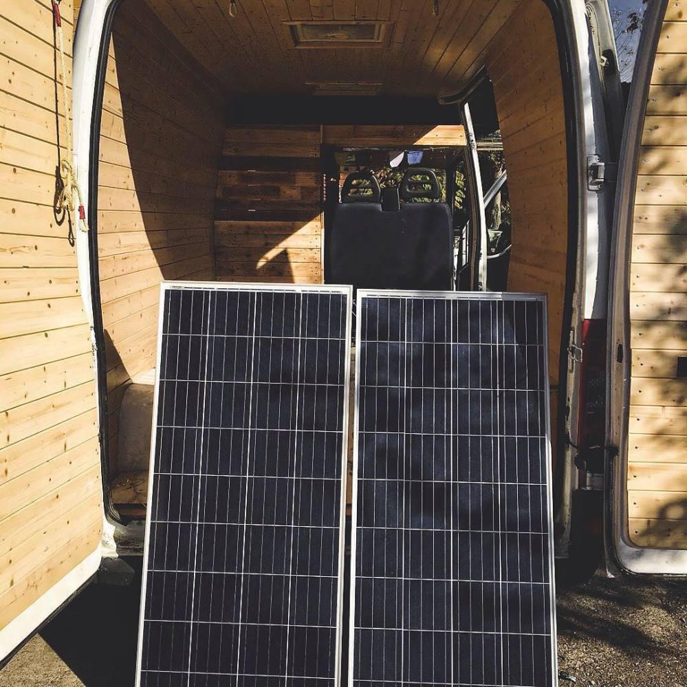 medium resolution of solar power system for a van