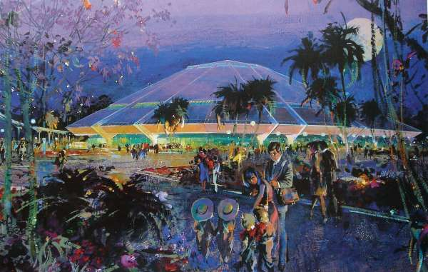 Epcot Center Concept Art