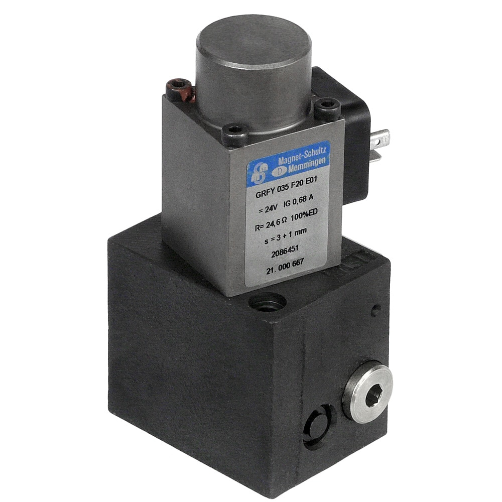 Using 2 Joystick To Control 1 Valve With Proportional Flow Control