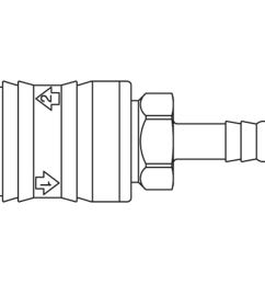 premium self venting quick coupling system with nominal diameter 5 5 for pneumatic applications up to 12 bar coupling system with iso 6150 b profile  [ 1000 x 1000 Pixel ]