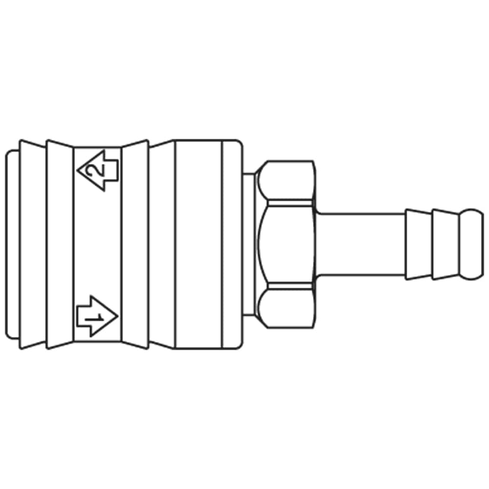 medium resolution of premium self venting quick coupling system with nominal diameter 5 5 for pneumatic applications up to 12 bar coupling system with iso 6150 b profile
