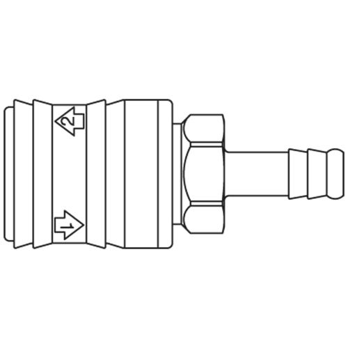small resolution of premium self venting quick coupling system with nominal diameter 5 5 for pneumatic applications up to 12 bar coupling system with iso 6150 b profile
