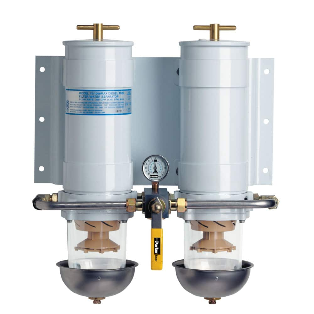 hight resolution of marine fuel filter water separator racor turbine series