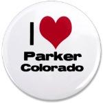 i love parker colorado pin