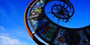 Pace Center Glass Sculpture Parker Colorado