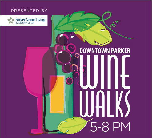 wine walk parker colorado mainstreet