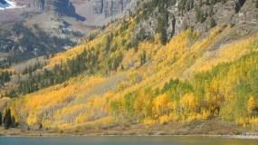 Snowmass Colorado Maroon Bells quaking Aspens fall Color Vail