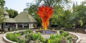 dale chihuly Colorado Installation at Denver Botanic Gardens