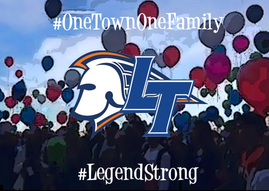 one town one family #OneTownOneFamily Legend Strong Parker Colorado