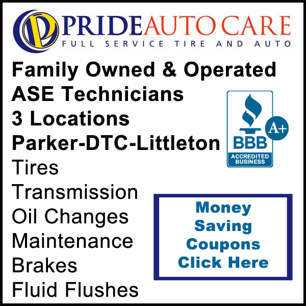 Pride Auto Care Parker CO ASE Technicians Car Repair Brakes Tire Center