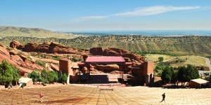 Red Rocks Amphitheater Morrison Colorado Easter Sunrise Service