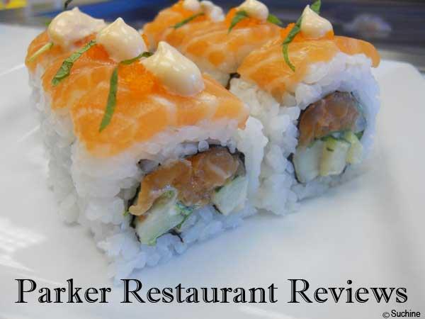 sushi restaurant suchine parker co