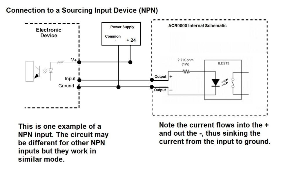 medium resolution of acr9000 sample input output wiring