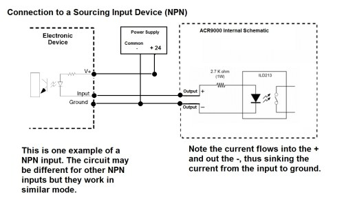 small resolution of acr9000 sample input output wiring