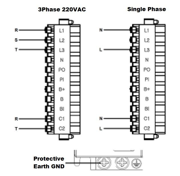 220vac 3 phase wiring
