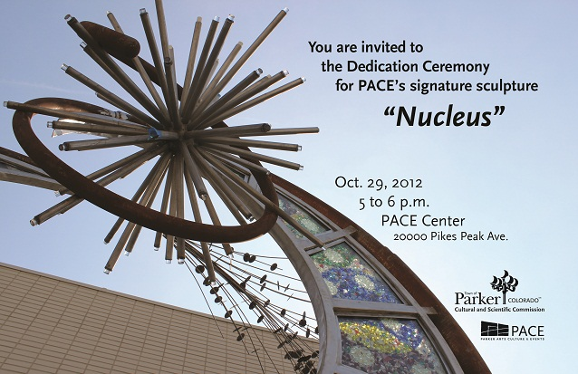 nucleus art at the PACE Center