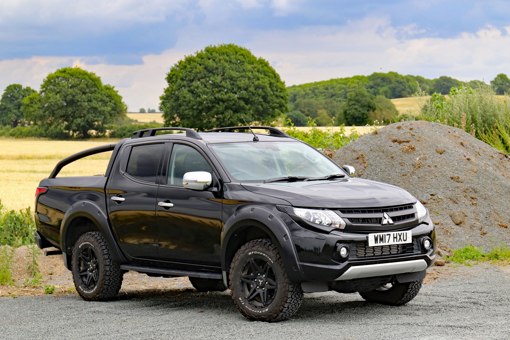 hight resolution of mitsubishi l200 svp review front