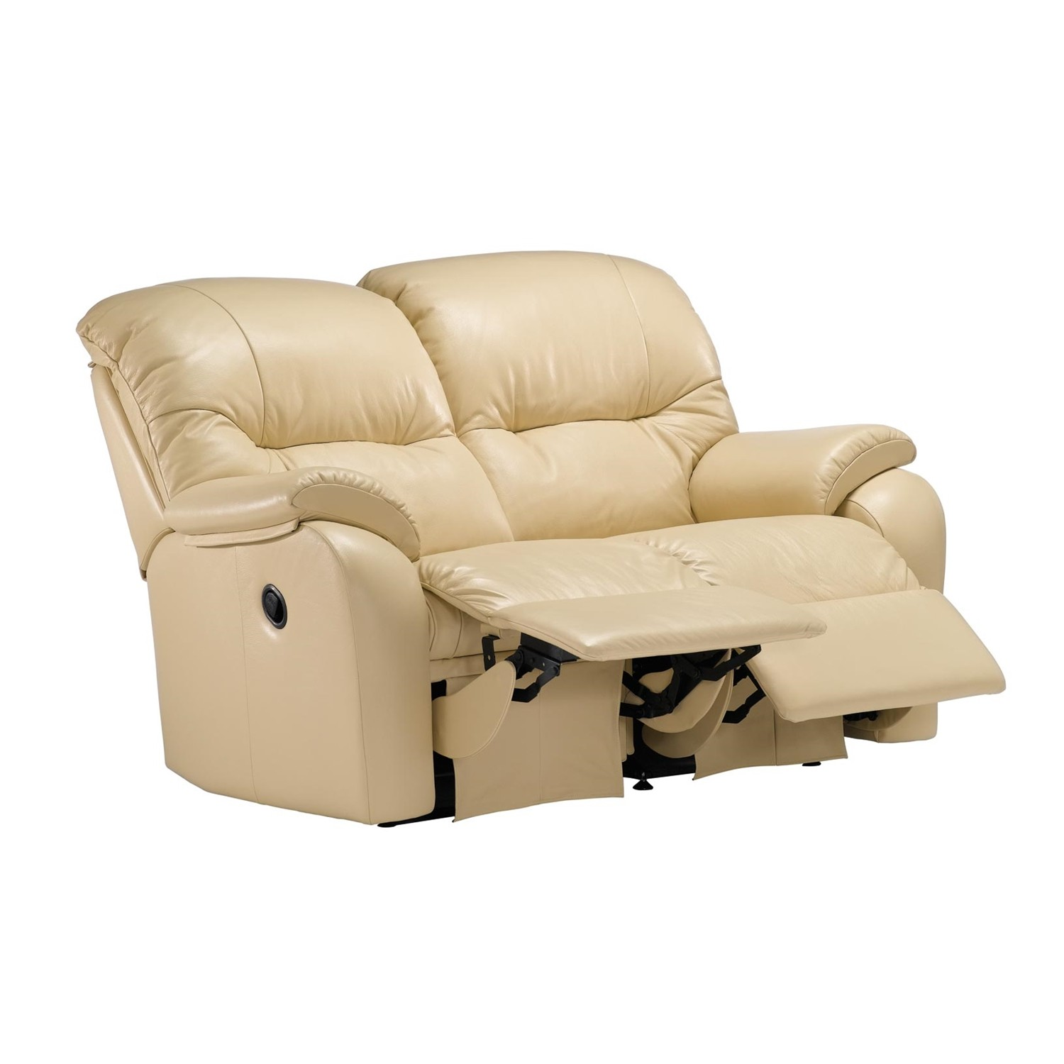 2 seater power recliner sofa hexagonal shaped g plan mistral two double
