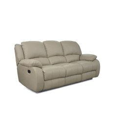 Three Seater Recliner Sofa Flip Open For Kids Oscar Manual