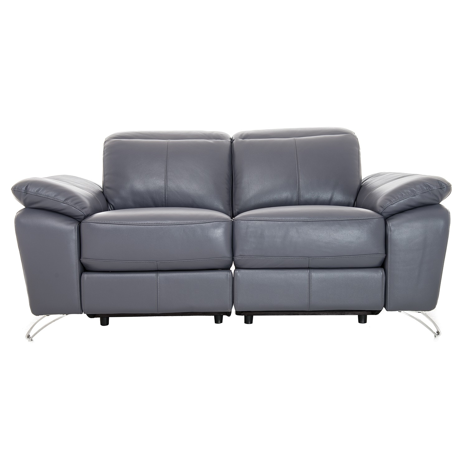 2 seater power recliner sofa back of console table vivaldi two