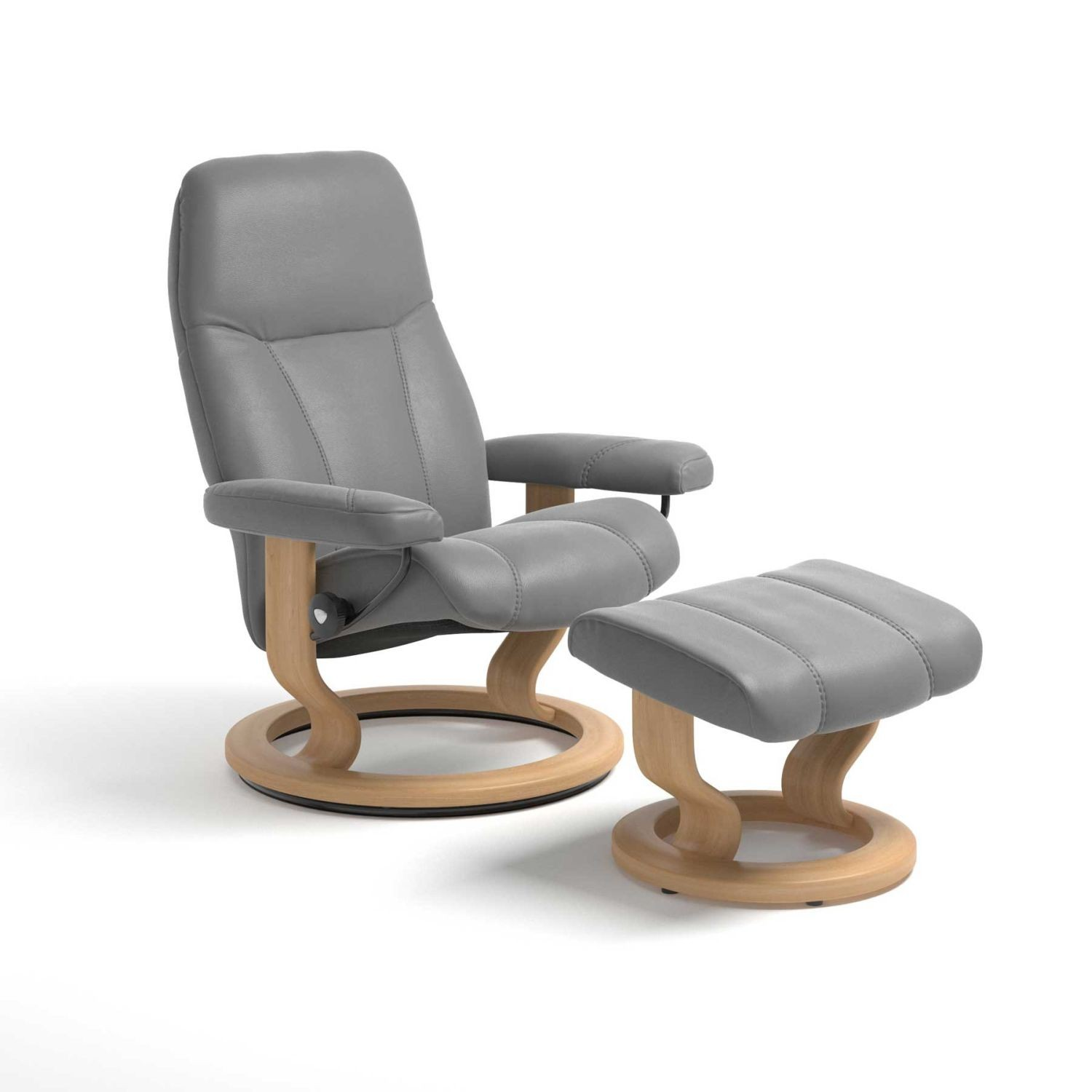 Stressless Consul Large Chair With Stool
