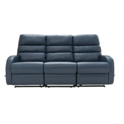 Three Seater Recliner Sofa Chenille Reclining Sectional La Z Boy Albany Power