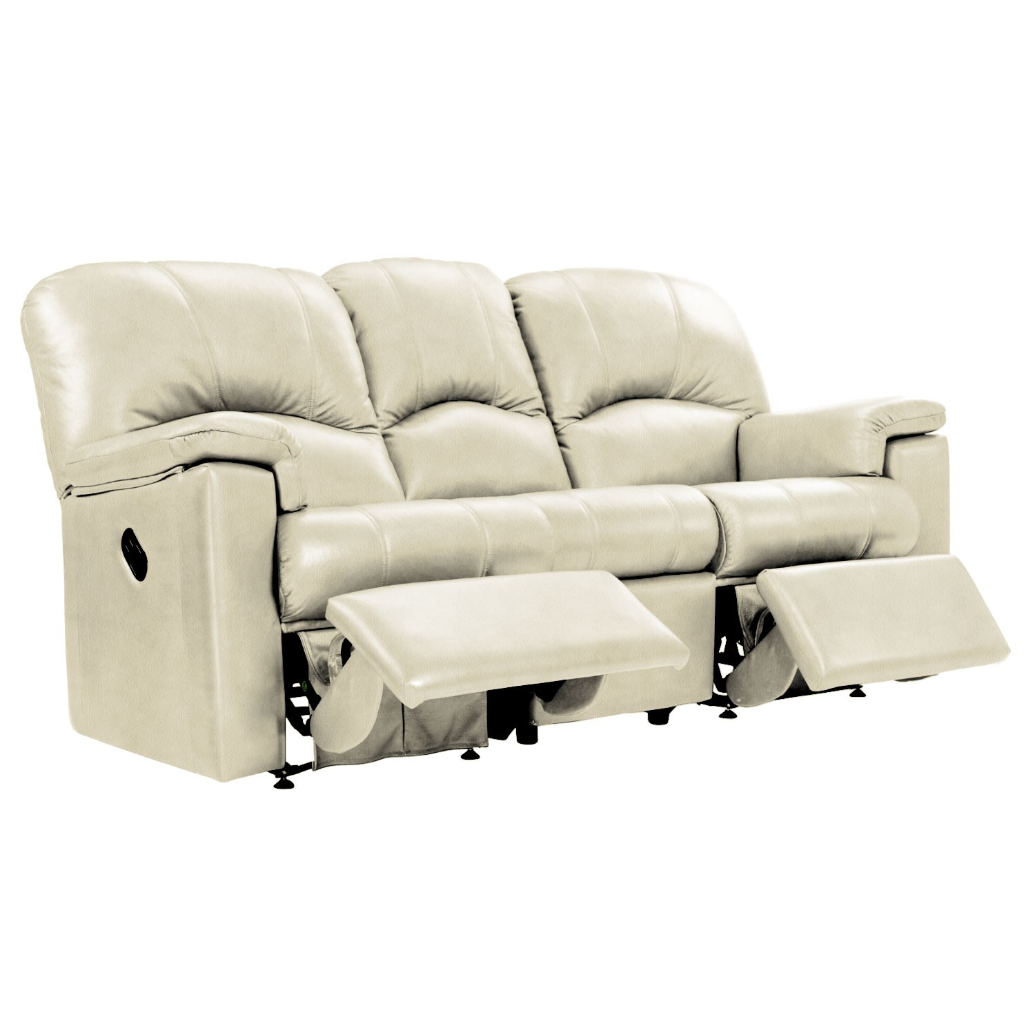 three seater recliner sofa marks and spencer abbey leather reviews g plan chloe double