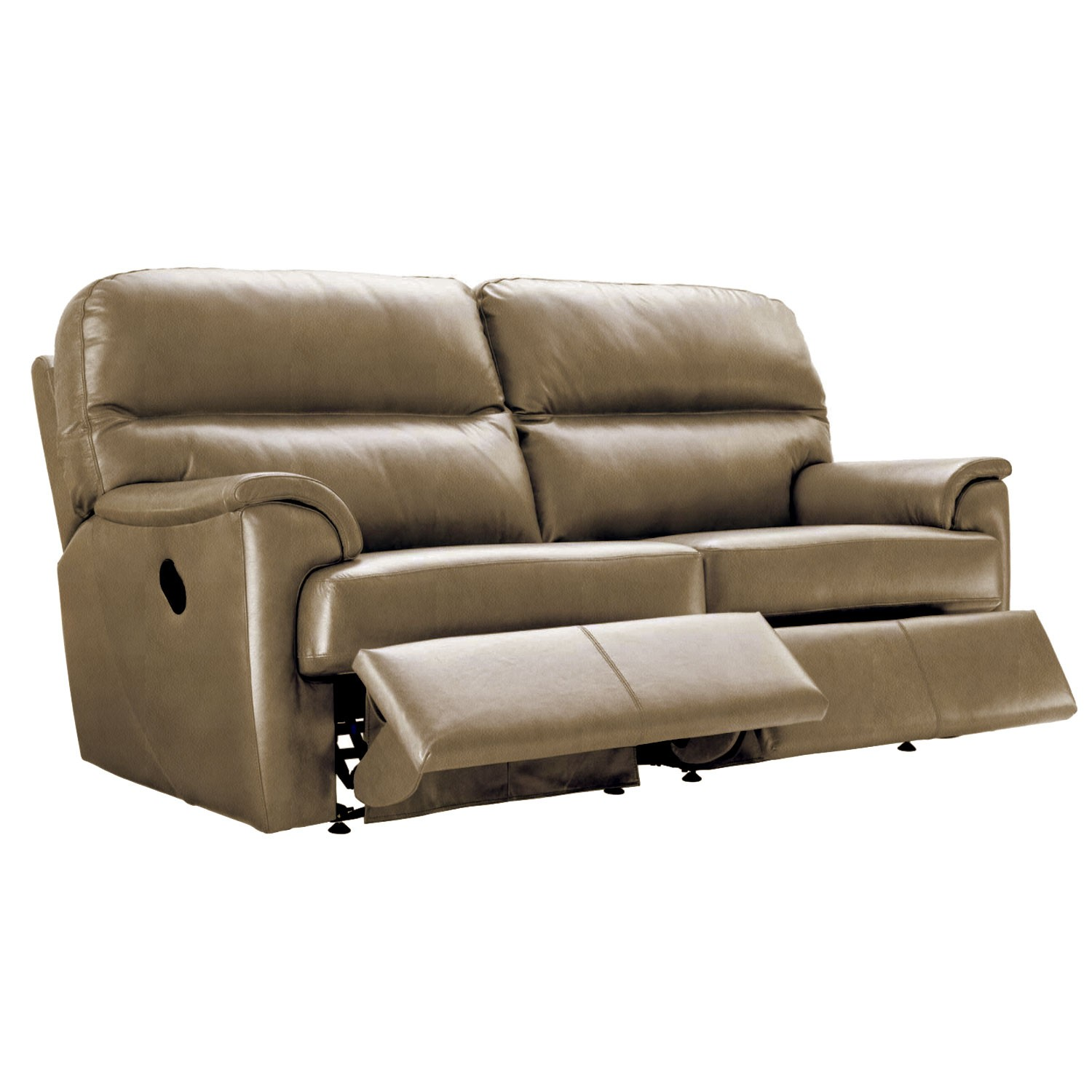 three seater recliner sofa what is chesterfield g plan watson double manual