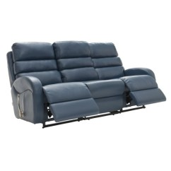 Albany Leather Sofa Chaise Longue Fabric La Z Boy Three Seater Power Recliner 3