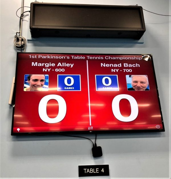 1st Parkinson' Ping-pong Championship Smashing Success